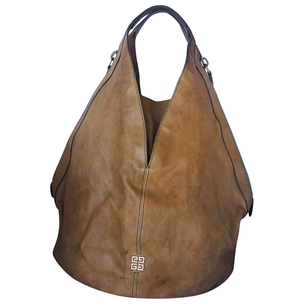 Givenchy \N Camel Leather handbag for Women \N