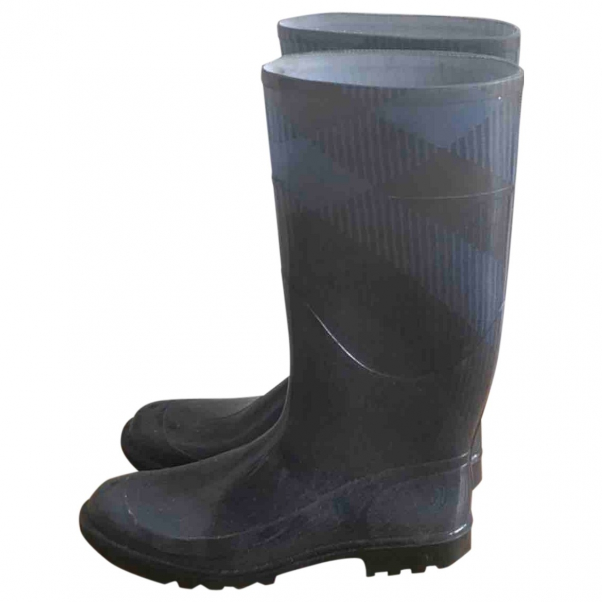 Burberry \N Blue Rubber Boots for Women 40 EU