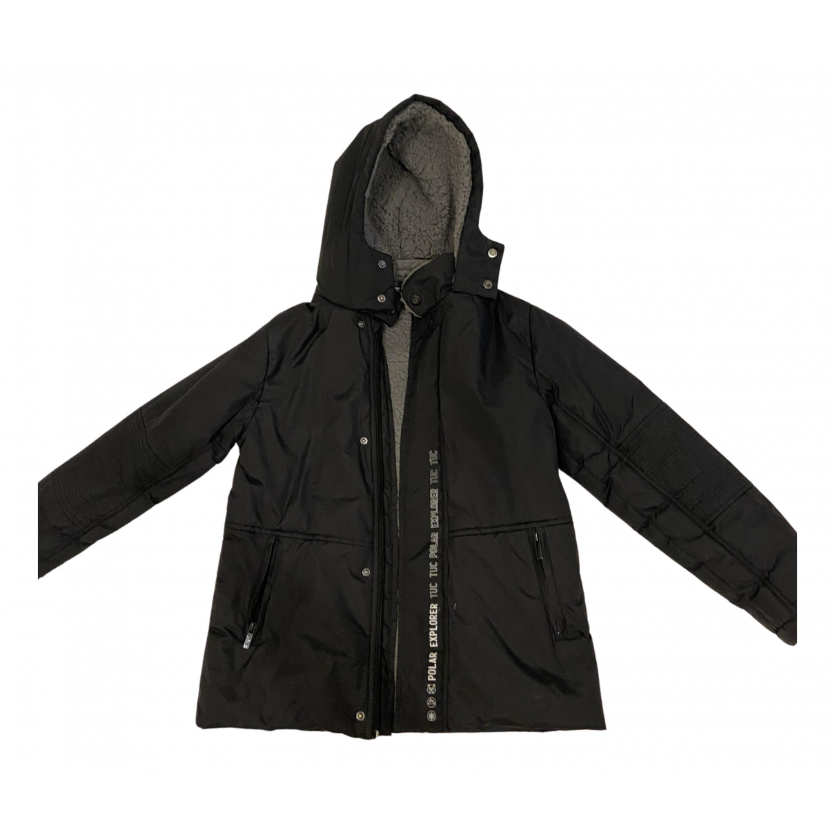 Non Signé / Unsigned N Black jacket & coat for Kids 12 years - XS FR