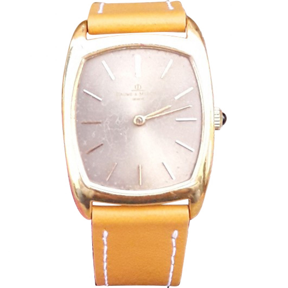 Baume Et Mercier Hampton Lady Camel Yellow gold watch for Women \N