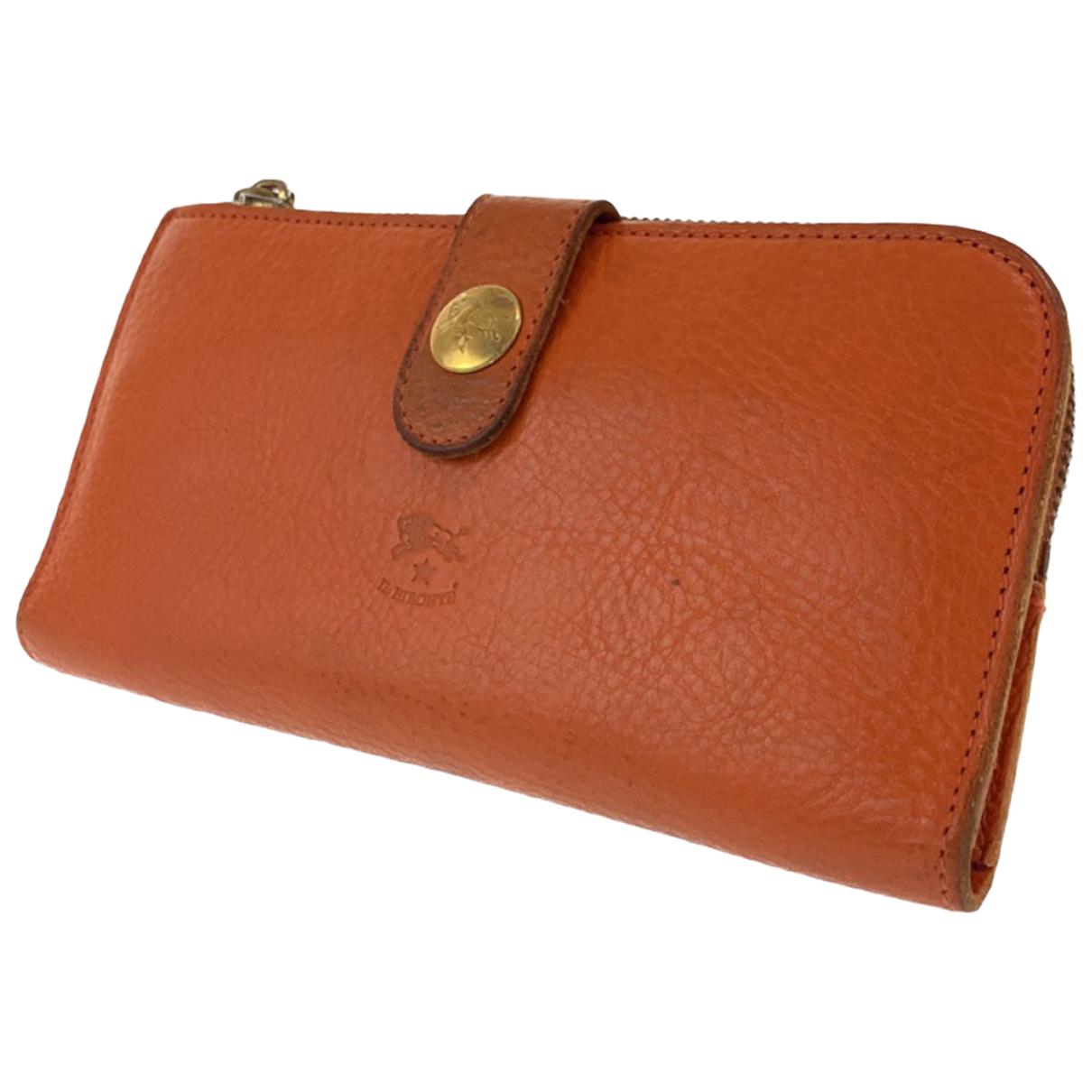 Il Bisonte - Portefeuille   pour femme en cuir