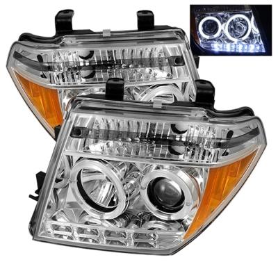 Spyder Auto Group Halo LED Projector Headlights (Chrome) - 5011534
