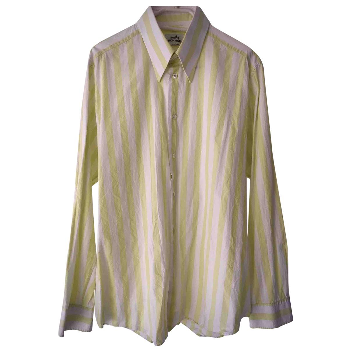 Hermes - Chemises   pour homme en coton