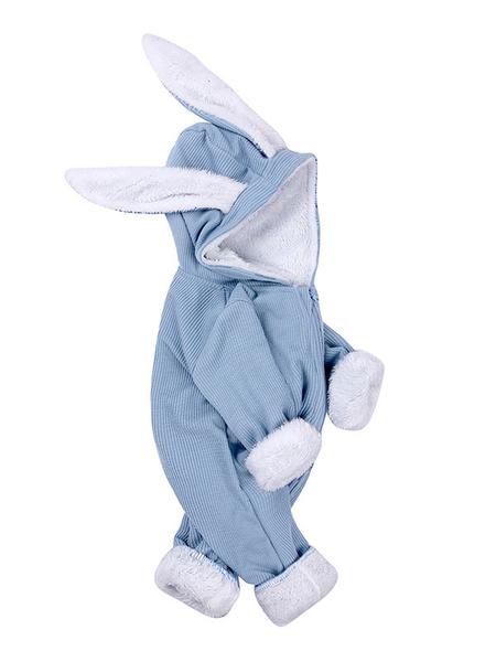 Milanoo Disfraz Halloween Onesie Pijamas Kigurumi Bunny Ear Niño Niño Ropa de algodon Carnaval Halloween