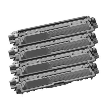 Compatible Brother TN-221 cartouche de toner noire - boite economique - 4/paquet