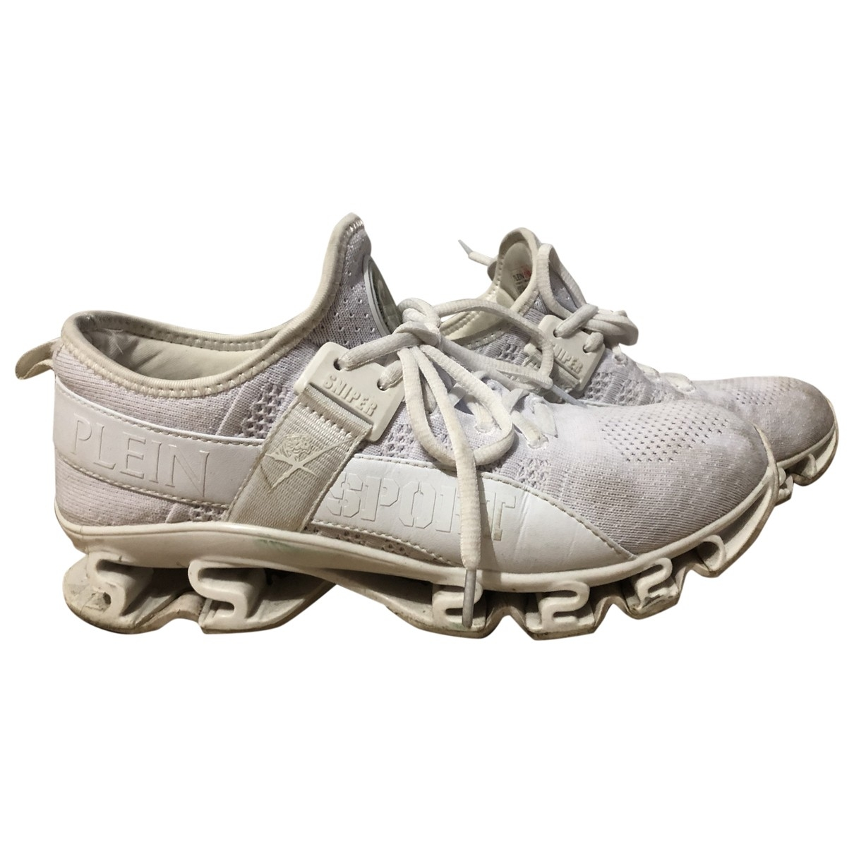Philipp Plein \N Sneakers in  Weiss Polyester