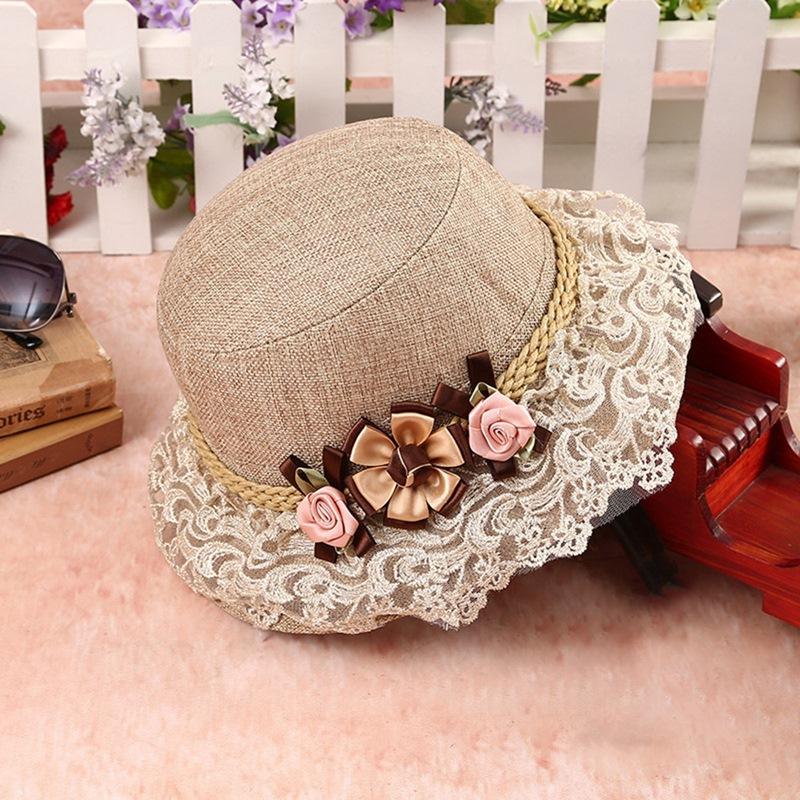 Ericdress Flower Bucket Hat For Women
