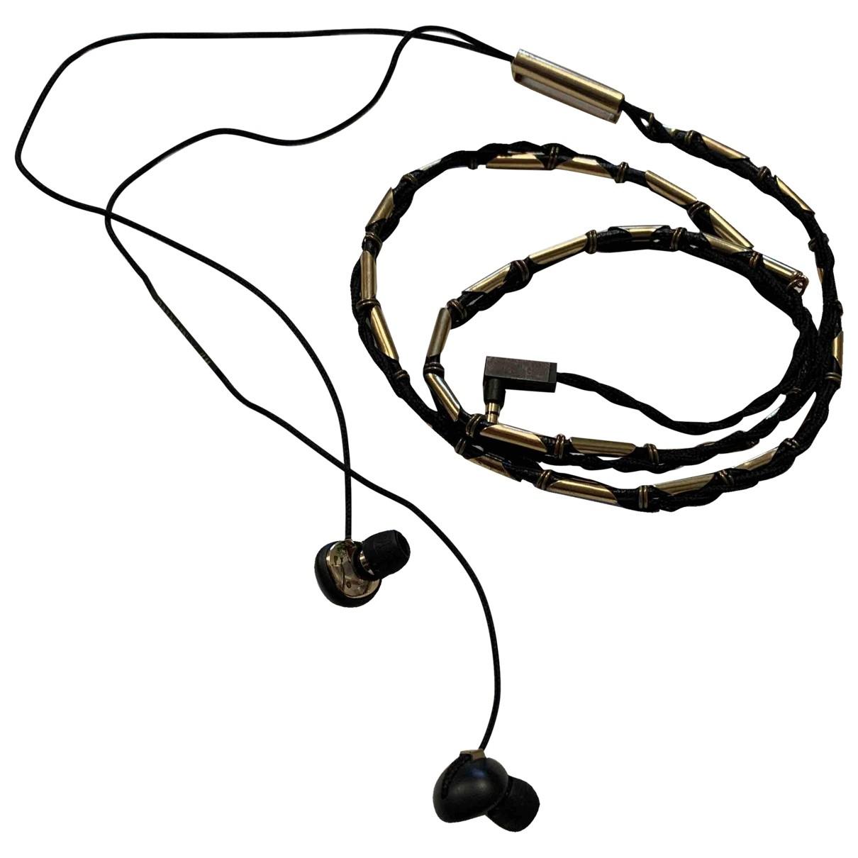 Auriculares de Cuero Balmain For H&m