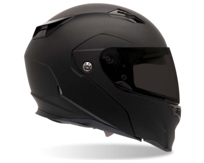 Bell Racing 2033307 Revolver Evo Matte Black Helmet 58-59 | LG