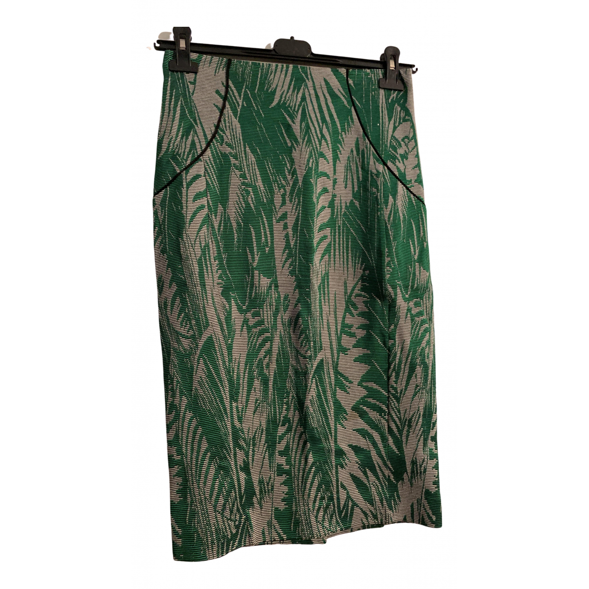 Patrizia Pepe \N Green Cotton skirt for Women 44 IT