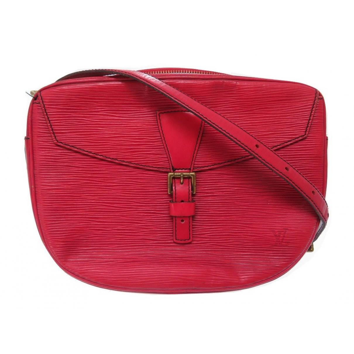 Louis Vuitton Jeune fille  Handtasche in  Rot Leder