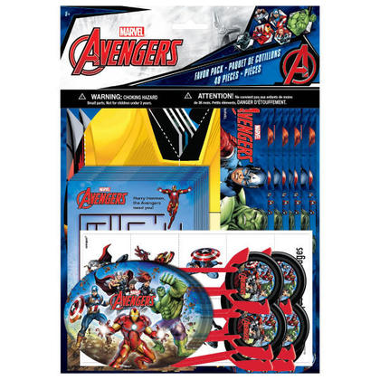 Avengers 1 Favor Pack 48 pcs. NEW For Birthday Party