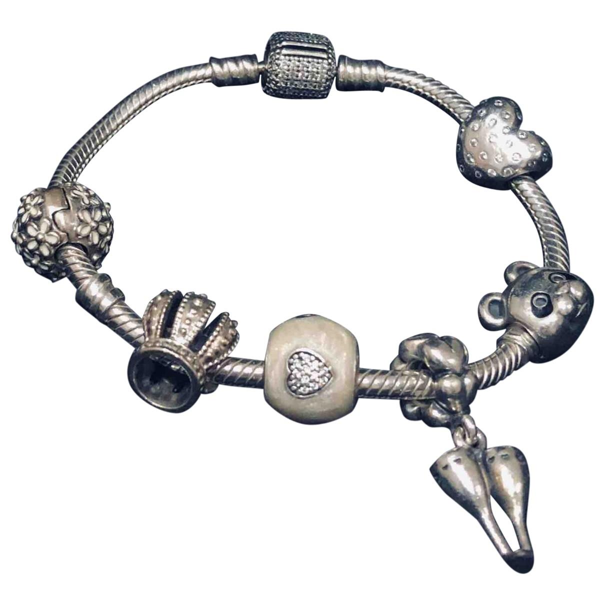 Pandora - Bracelet   pour femme en metal - argente