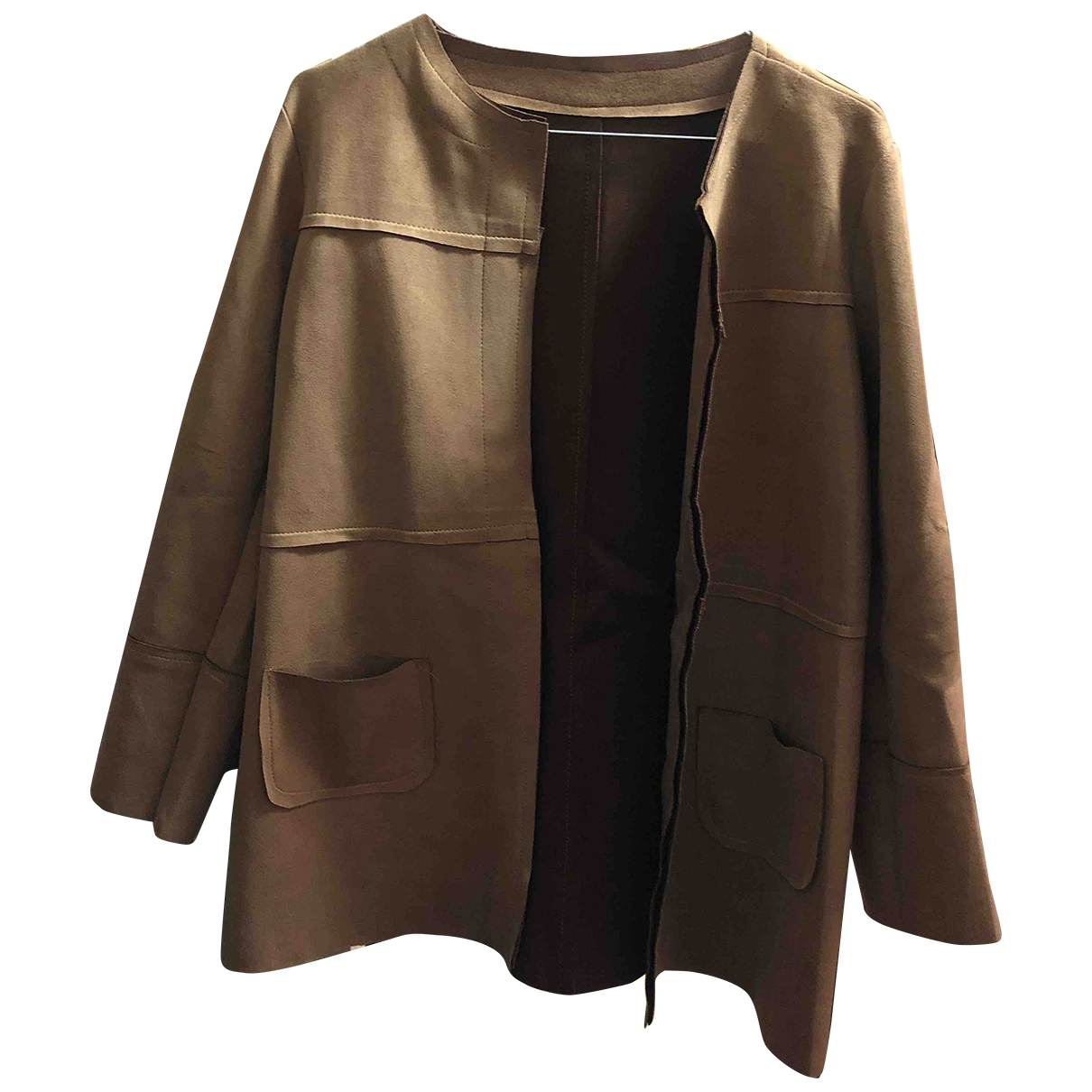 Non Signé / Unsigned \N Camel jacket for Women S International