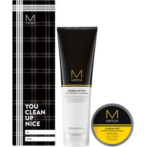 Paul Mitchell Aktionsartikel Sets Geschenkset Double Hitter 250 ml + Clean Cut 85 g 1 Stk.