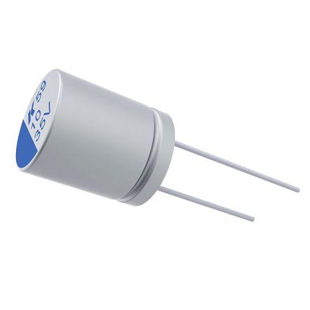 KEMET 100μF Electrolytic Capacitor 35V dc, Through Hole - A759KS107M1VAAE031 (500)