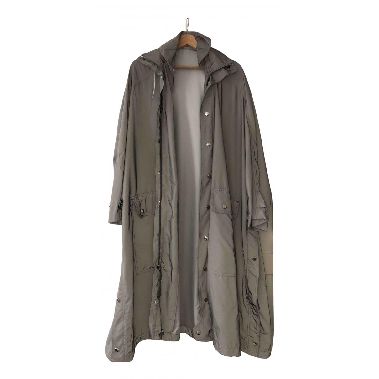 Balenciaga \N Maentel in  Grau Polyester