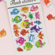 1sheet 3D Fish Sticker