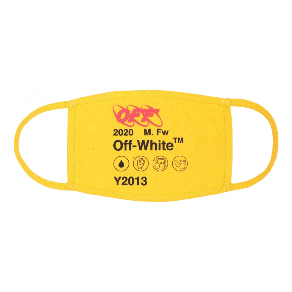 Off-white - Mode   pour lifestyle en coton - jaune