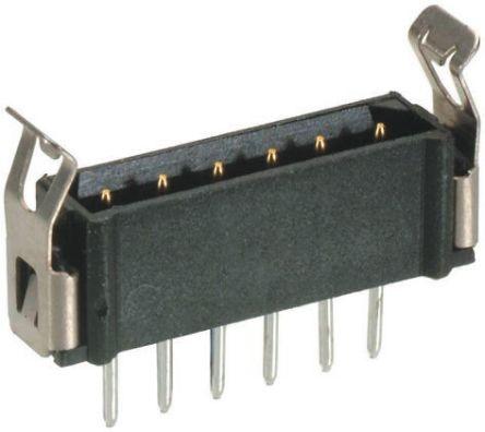 HARWIN , Datamate L-Tek, 5 Way, 1 Row, Straight PCB Header