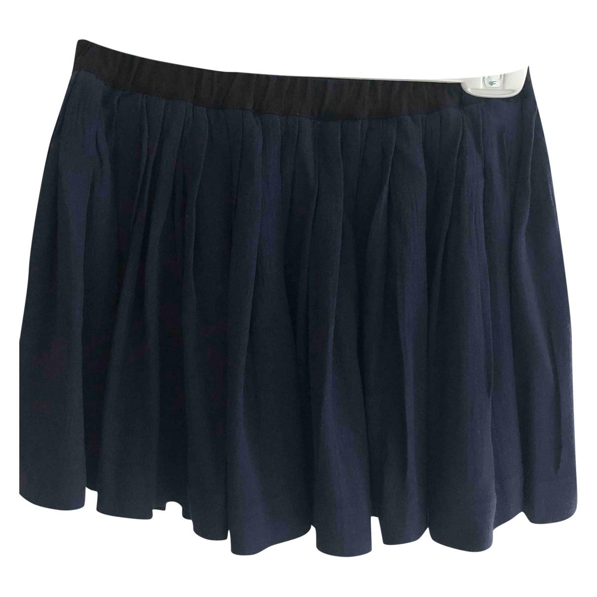 Bonpoint \N Navy skirt for Kids 12 years - XS FR