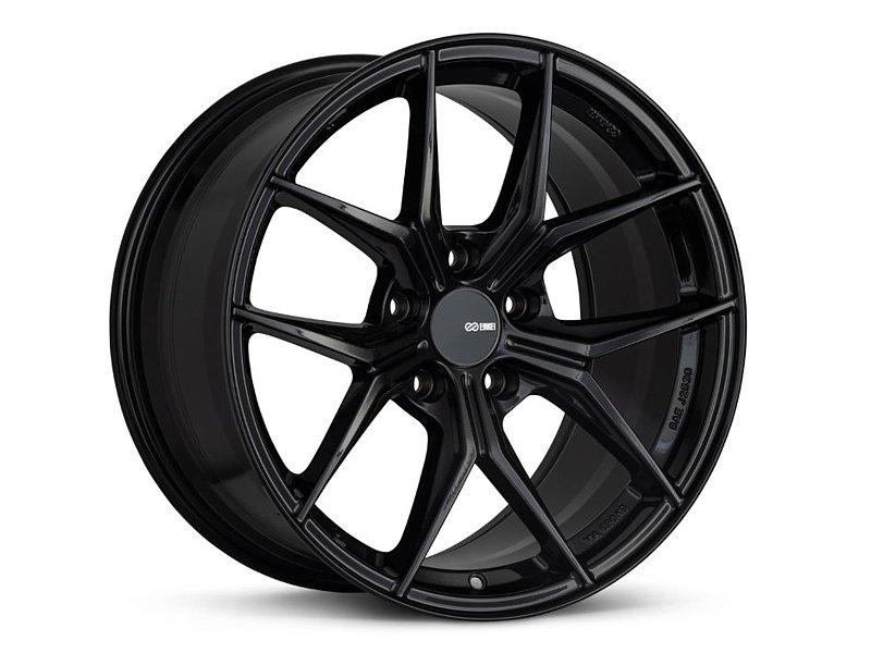 Enkei TSR-X Wheel 18x8 5x114.3 45mm Black