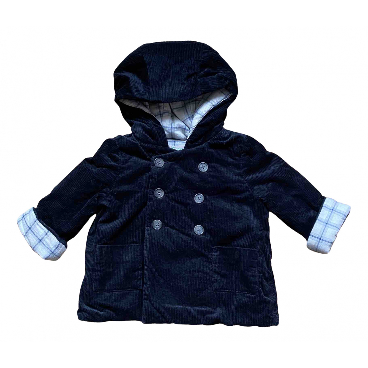 Bonpoint N Black Velvet jacket & coat for Kids 2 years - up to 86cm FR