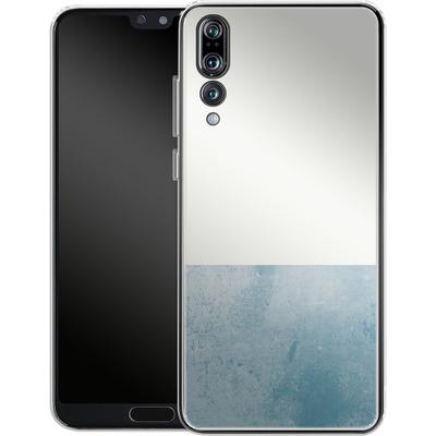 Huawei P20 Pro Silikon Handyhuelle - Colour Block Blue von caseable Designs