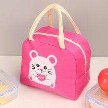 Cartoon Graphic Insulated Lunch Bag
