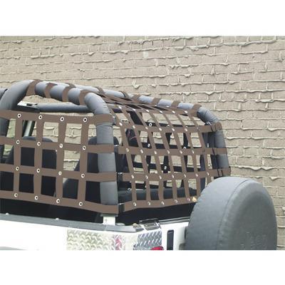 DirtyDog 4x4 Rear Cargo Netting (Sand) - Y2NN92RCSD