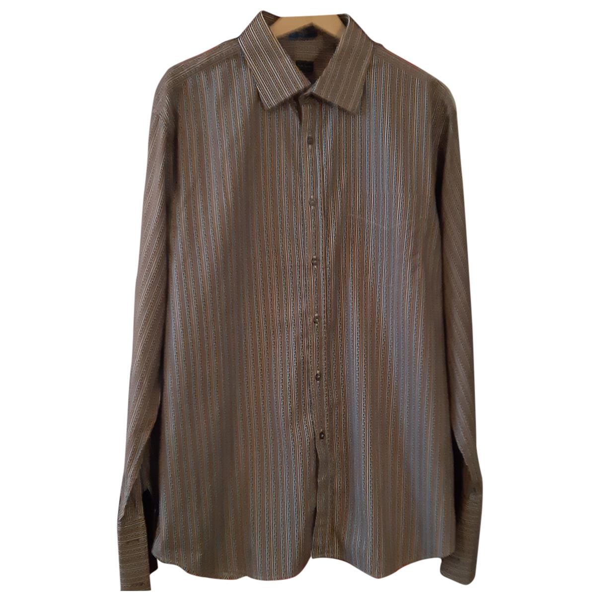 Paul Smith N Multicolour Cotton Shirts for Men 44 EU (tour de cou / collar)