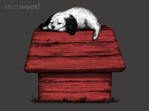 Sleeping Beagle T Shirt