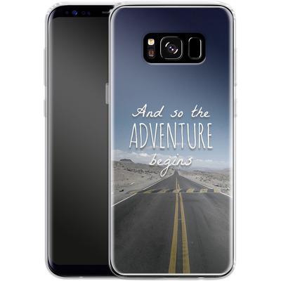 Samsung Galaxy S8 Silikon Handyhuelle - And so the Adventure Begins von Joel Perroden