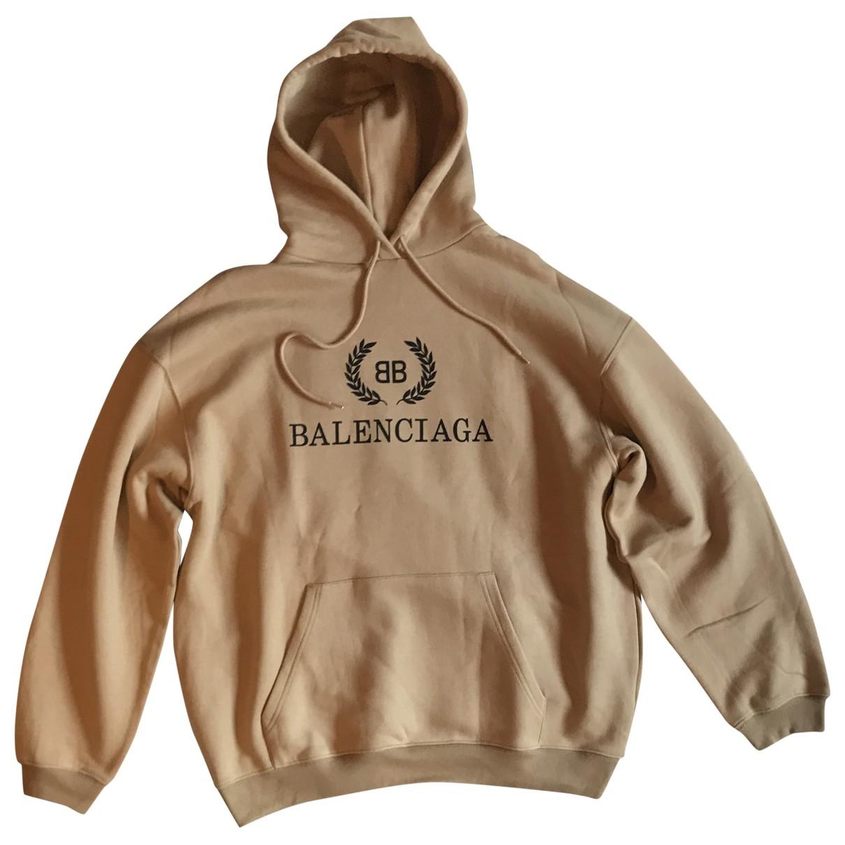 Balenciaga - Pulls.Gilets.Sweats   pour homme en coton - marron
