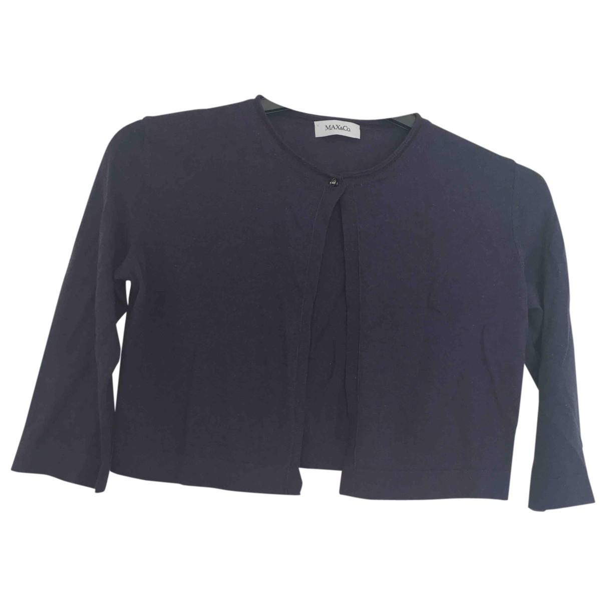 Max & Co \N Pullover in  Blau Baumwolle