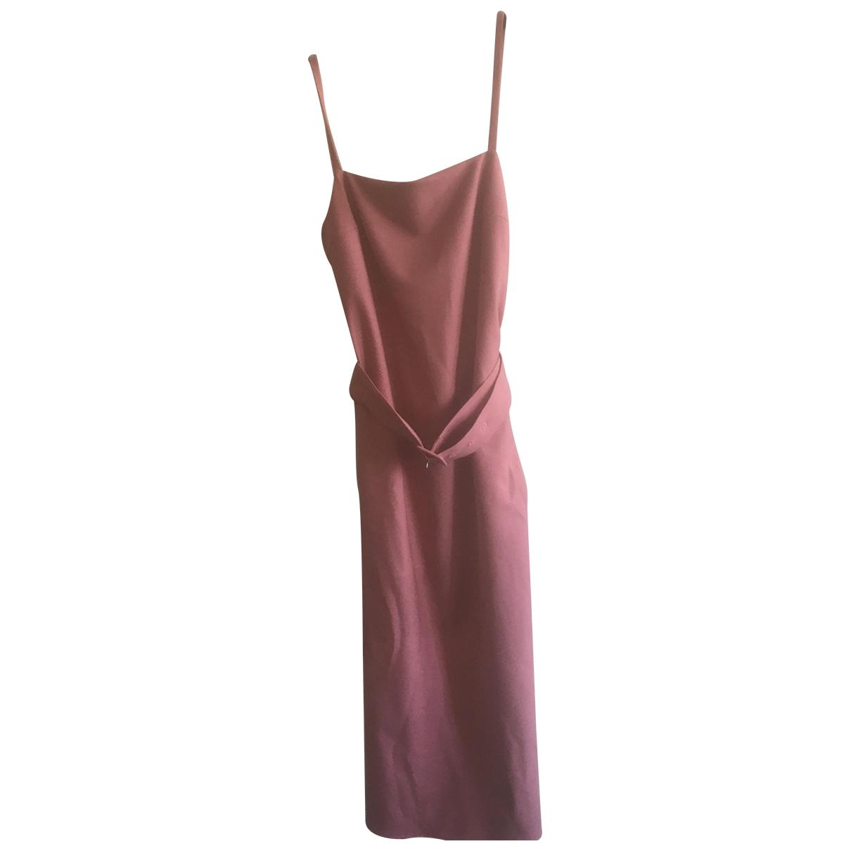 Rokh \N Pink Linen dress for Women 34 FR