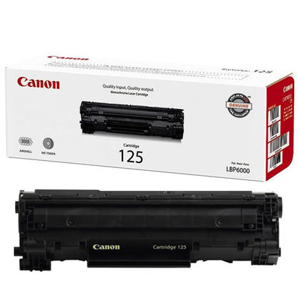 Canon 125 3484B001AA cartouche de toner originale noire