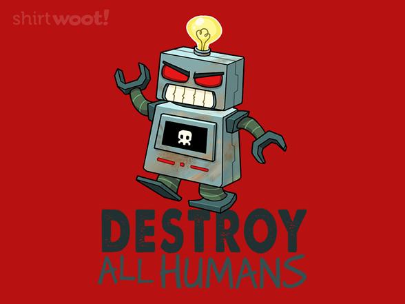 Deathbot T Shirt