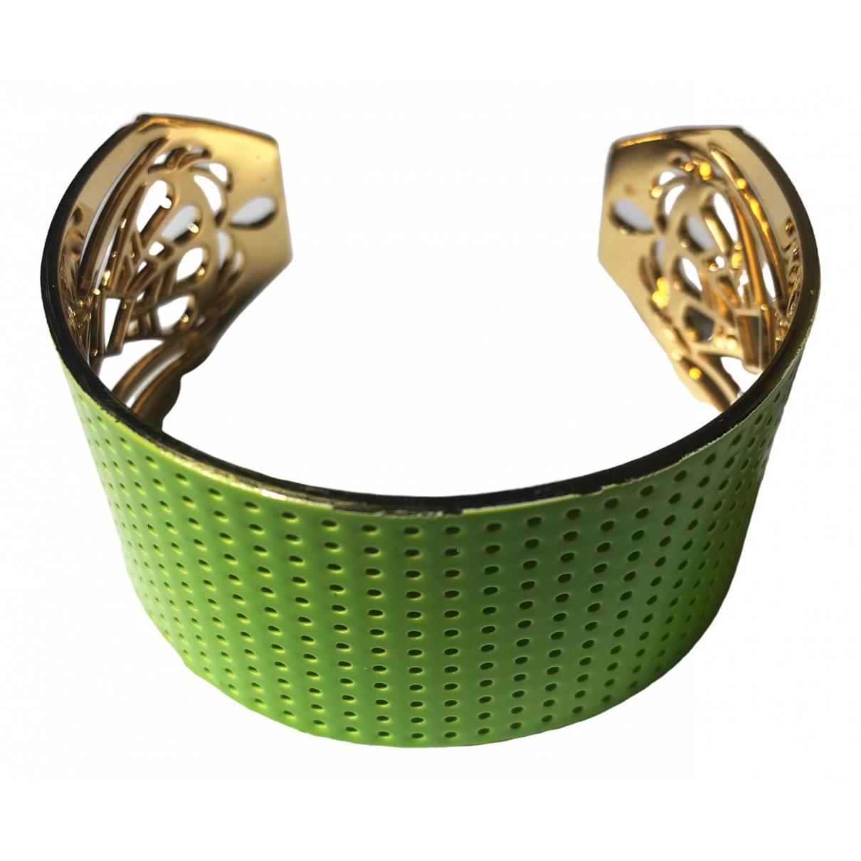 Non Signe / Unsigned \N Armband in  Gelb Vergoldet