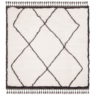 Safavieh Carmella Afton Shag Trellis Polyester Rug (6'7