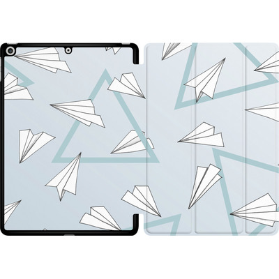 Apple iPad 9.7 (2017) Tablet Smart Case - Paper Planes Blue von Barlena