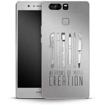 Huawei P9 Silikon Handyhuelle - Weapons Of Mass Creation von Bianca Green