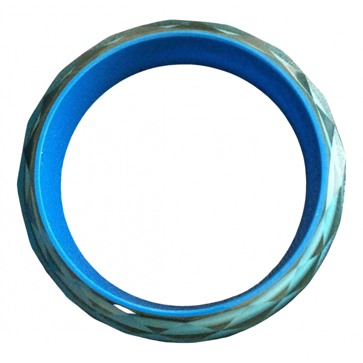 Non Signe / Unsigned \N Armband in  Blau Kunststoff