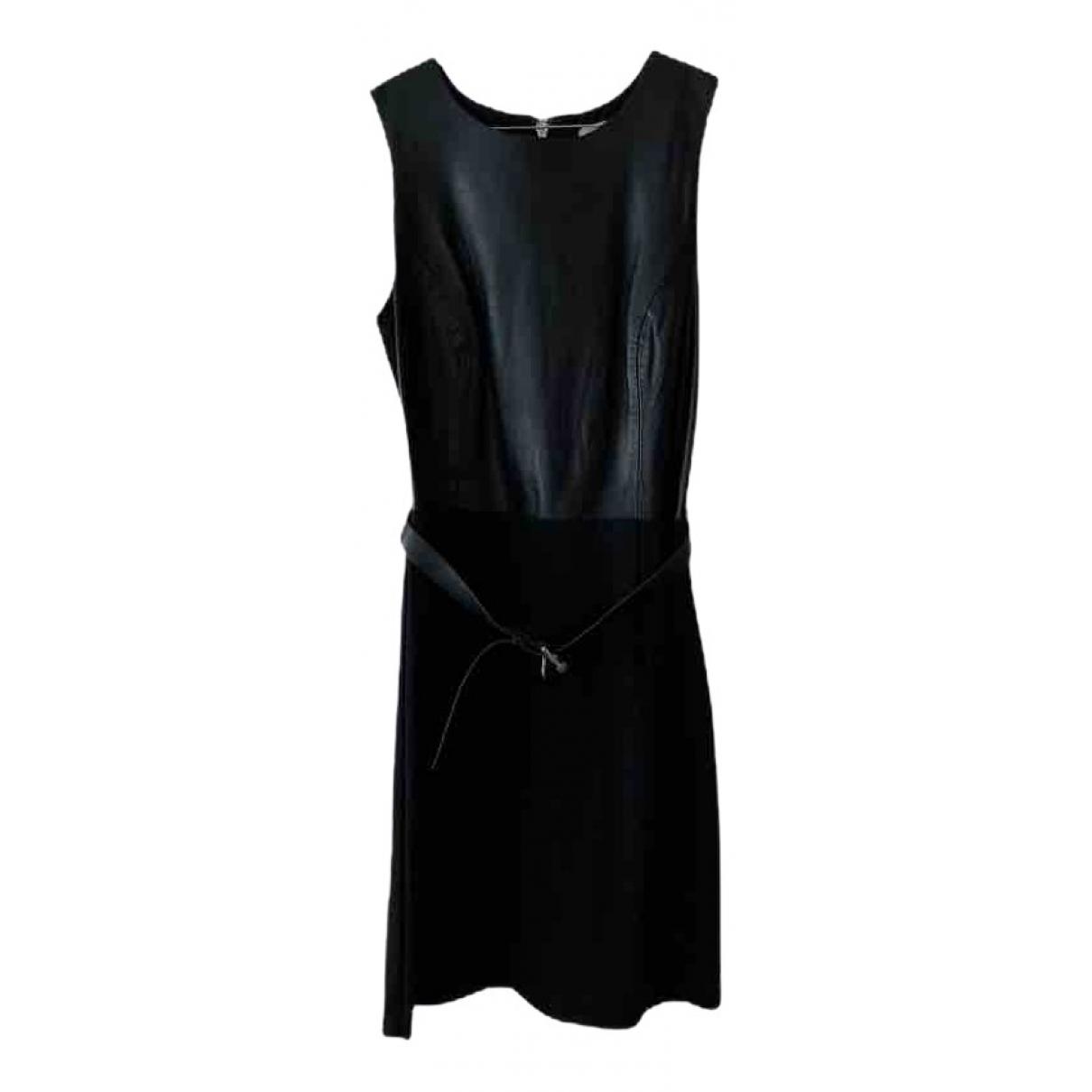 Michael Kors - Robe   pour femme en cuir - noir
