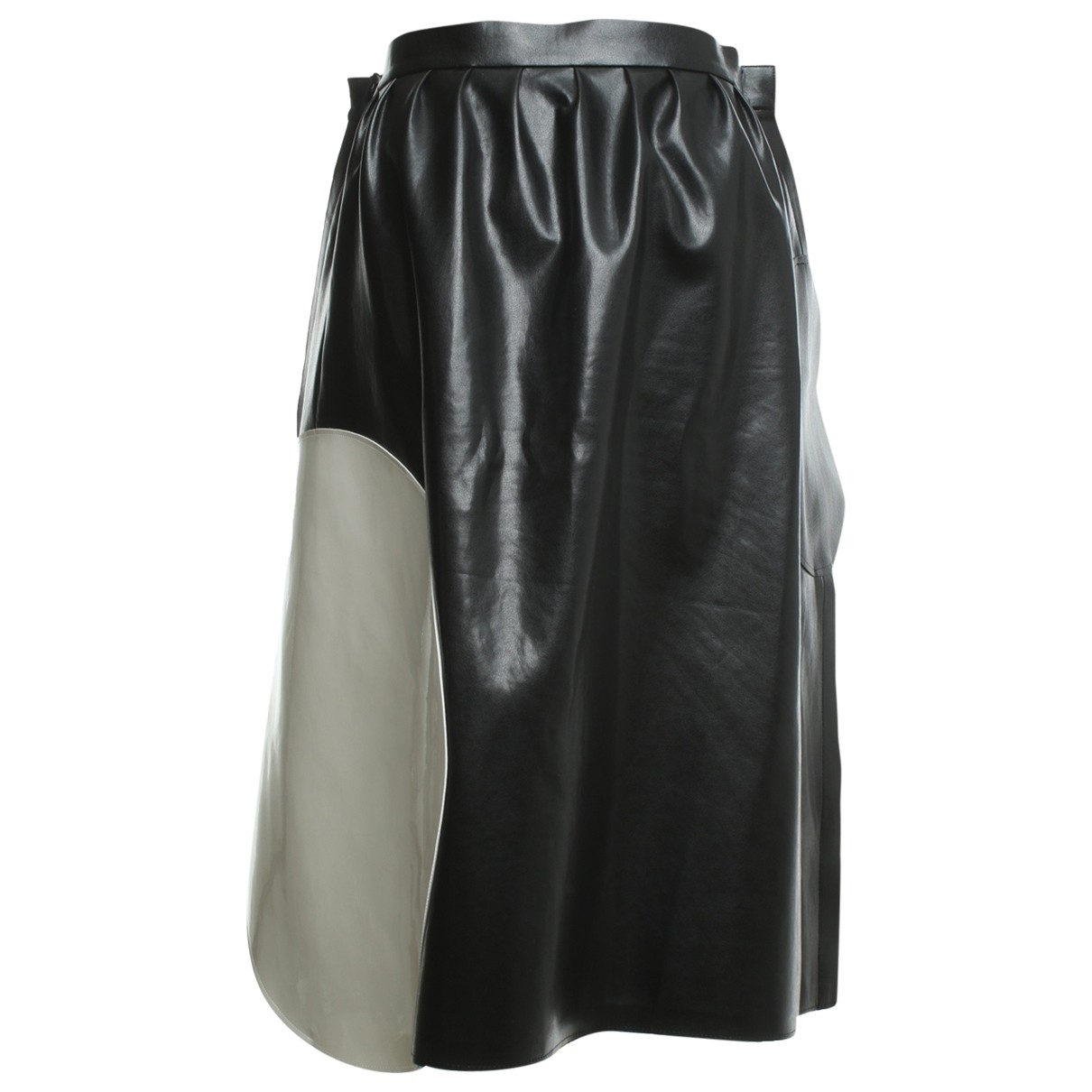 Junya Watanabe \N Black Leather skirt for Women L International