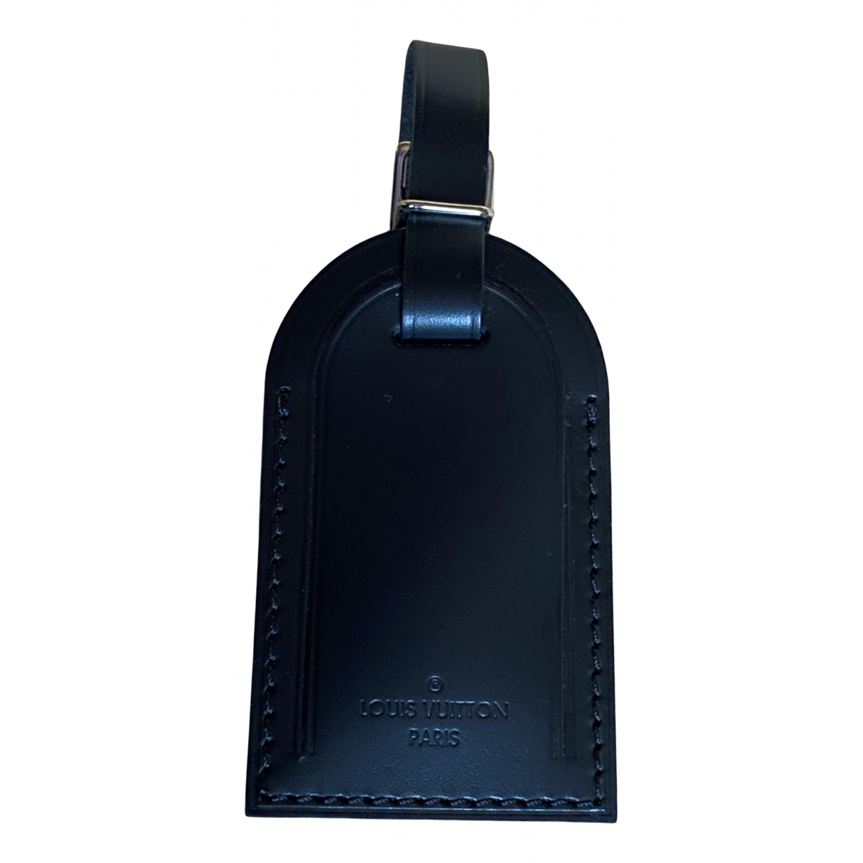 Louis Vuitton N Black Leather Small bag, wallet & cases for Men N