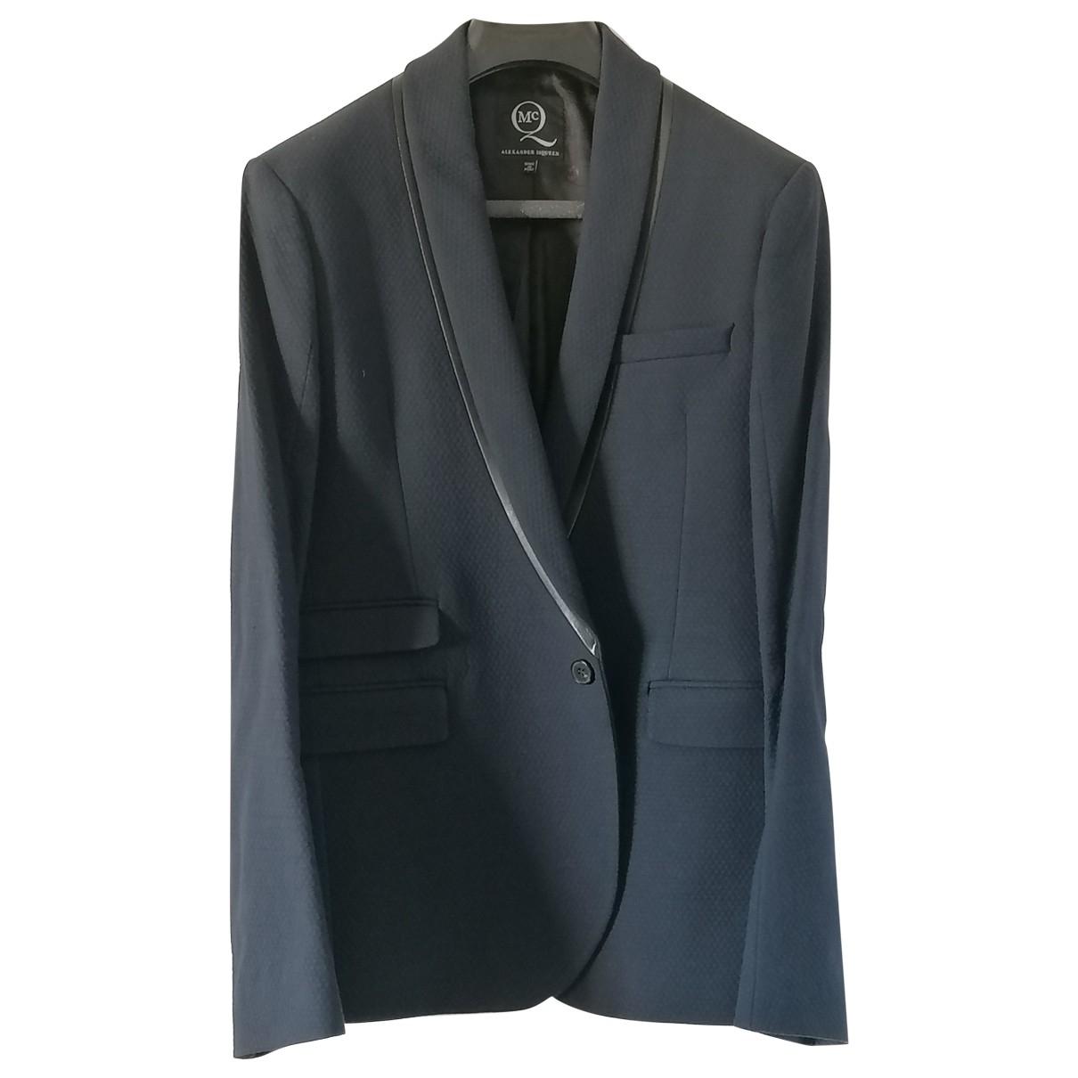 Mcq \N Blue Cotton jacket  for Men 48 IT