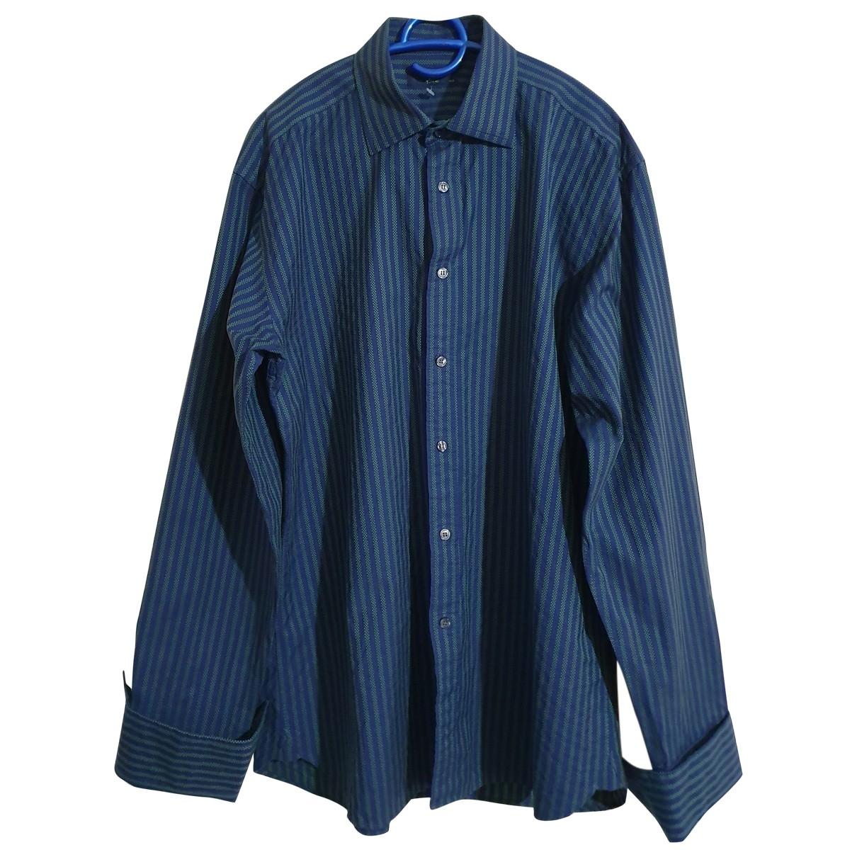 Ted Baker \N Multicolour Cotton Shirts for Men 16.5 UK - US (tour de cou / collar)