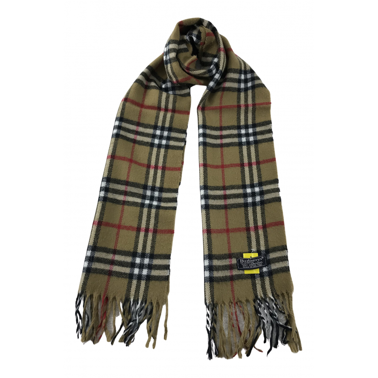 Burberry N Brown Wool scarf for Women N