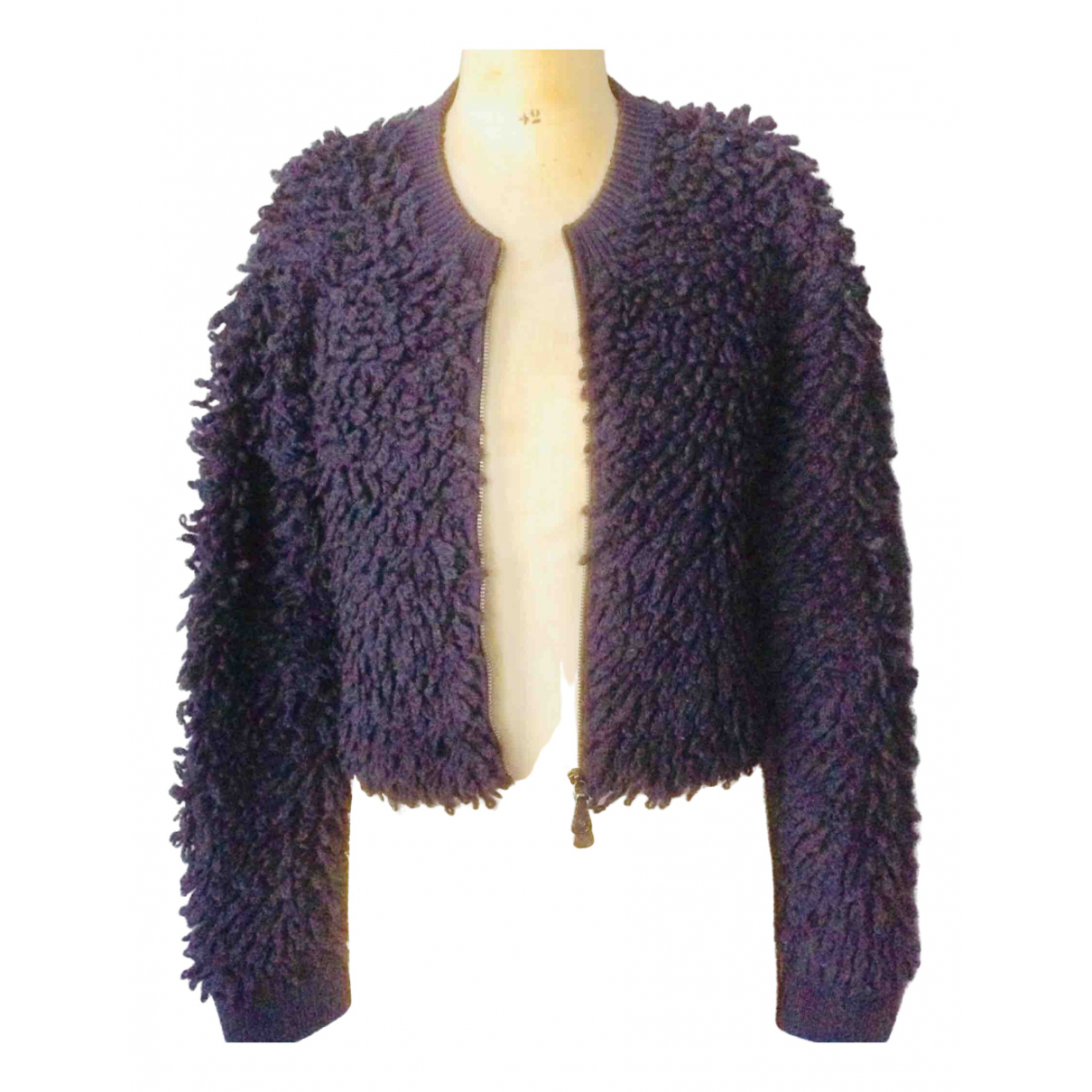Alexander Mcqueen \N Navy Wool Knitwear for Women XS International